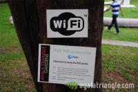 Ayala Triangle Gardens Free Wi-Fi