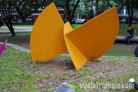 Homage to Luis Feito - Ayala Triangle Gardens