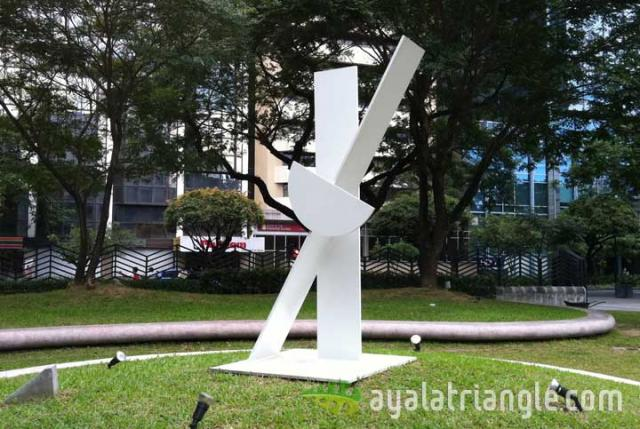 Homage to Antoni Tapies - Ayala Triangle Gardens