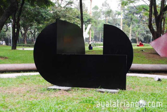 Homage to Eusebio Sempere - Ayala Triangle Gardens