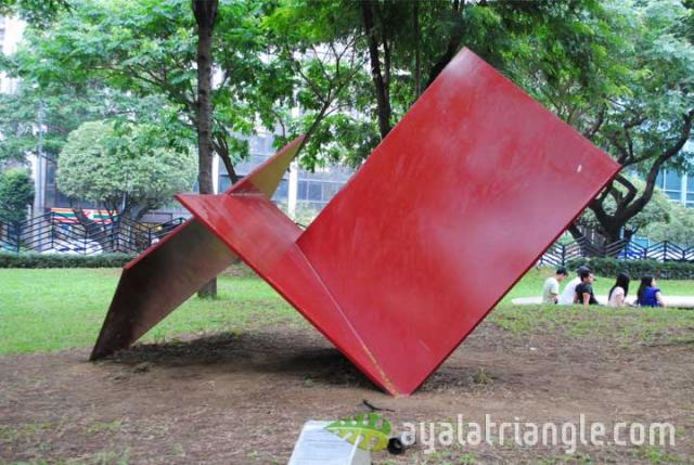 Homage to Fernando Zobel - Ayala Triangle Gardens