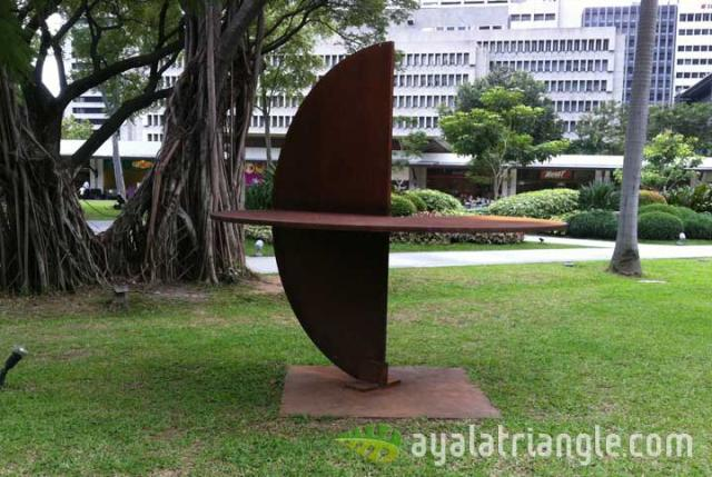 Rueda 1 Series #1 - Homage to Gerardo Rueda - Ayala Triangle Gardens