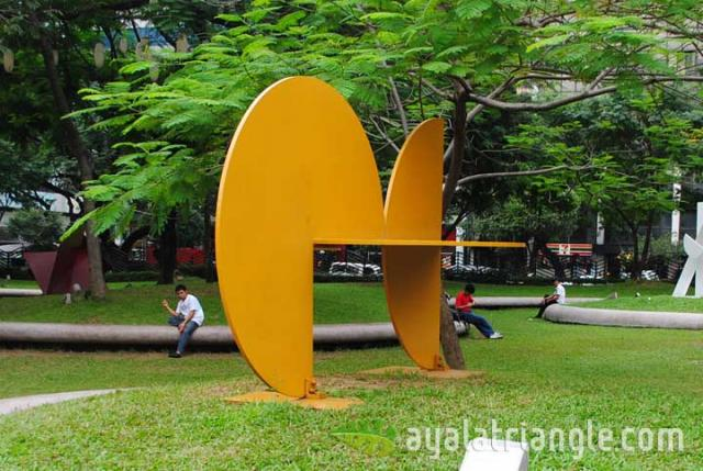 Rueda 2 Series #9 - Homage to Gerardo Rueda - Ayala Triangle Gardens
