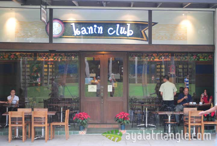 Kanin Club - Ayala Triangle Gardens