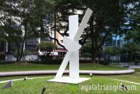 Homage to Antoni Tapies - Ayala Triangle Gardens