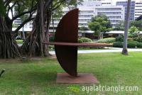 Rueda 1 Series #1 - Homage to Gerardo Rueda - Ayala Triangle Gardens