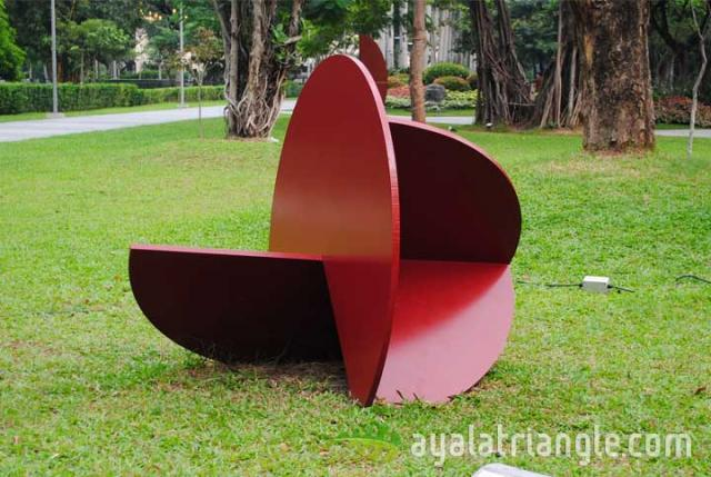Rueda 1 Series #10 - Homage to Gerardo Rueda - Ayala Triangle Gardens